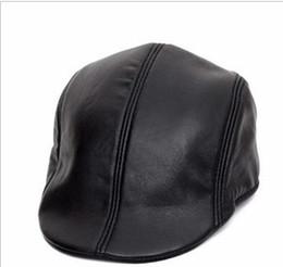 Newsboy Beret Leather Style Flat Cap Hat DEC Cabbie Gatsby 10pcs lot#1959