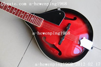 Wholesale Chinese music instrument Mandolin in red black