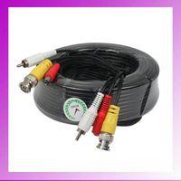 av power cables - 20M Audio Video FT RCA Power AV Cable F CCTV Camera Security Surveillance DVR