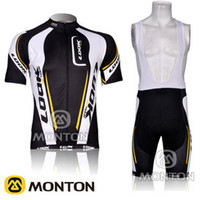 Wholesale 2012 LOOK cycling Short Sleeve Black Jersey wear Bib Shorts Suites Size S M L XL XXL XXXL