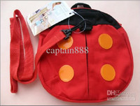 Wholesale Kid keeper Baby Safety Harness Toddler Reins Backpack Straps harnesses for child girl ladybird