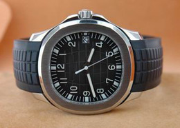 Mens Date Watch 5167 Aquanaut Stainless Steel Complete Dive Watches