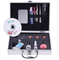 beauty case eyelashes - Fake Eye Lash Eyelash Eyelashes Extension Kit Full Set with Case For Make up Beauty Care Tool Freeshipping04