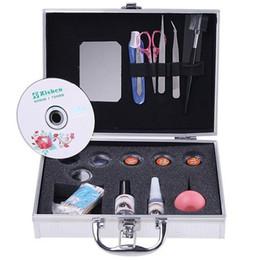 Wholesale False Eye Lash Eyelash Eyelashes Extension Kit Full Set with Case For Make up Beauty Freeshipping04