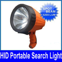Wholesale 55W quot POWER HID PORTABLE EMERGENCY RESCUE HUNTING SEARCH LIGHT FLASHLIGHT INTERNAL BALLASTS V NEW