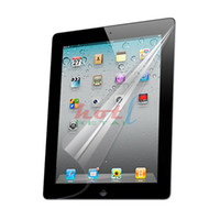 Wholesale For iPad screen protector with retail package for PDA accessories Free DHL shipping