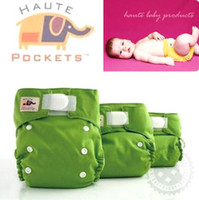 Wholesale Hot HAUTE Baby Diaper Cover with Bamboo Fibre Cloth Diaper Baby Cloth Nappy Baby Cloth Diaper