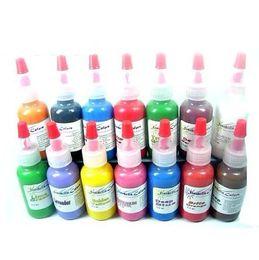Wholesale Pop Colors Tattoo Ink Sets OZ Tattoo Pigment ML Bottle