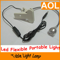 Wholesale NEW Mini Led Clip Adjustable Reading Table Light Lamp Flexible Portable new arrive hot