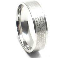 Wholesale Vintage cross gorgeous jewelry womens and mens ring no gemstone luxury fine Silver Ring
