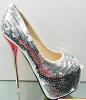 Cheap Red Sequin Pumps For Women | Free Shipping Red Sequin Pumps