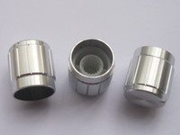 Wholesale 40 Circular Knob Argentate Aluminium Cover For Pots Use x15mm