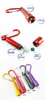 Wholesale Mini Bright LED Flash Light Aluminium Key chain Flashlight Lamp Small Torch Light