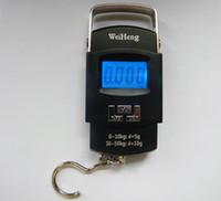 Wholesale 7510 Portable Electronic Digital Handing Pocket Scale kg g Luggage Finishing