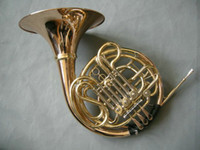 Wholesale Chinese Brand CTE key double French Horn Golden