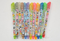 Wholesale Cute Mickey Mouse Minnie Mouse Cartoon Multi Colors Glitter Pen Colors Set School Thing