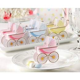 Wholesale Wedding Favor Box Bomboniere Baby Shower Favors Baby Day Out Candy Boxes