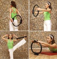 al por mayor pilates fitness circle-Anillo de pilate envío libre PILATES MAGIC círculo de la aptitud de la yoga Nueva