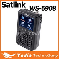 Wholesale Original Satlink WS DVB S digital satellite meter satellite finder ws6908