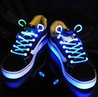 Wholesale SL8 Popular LED Shoelaces Mix Order Flashing Light Up Disco Light Shine Shoelace Flash Shoelace