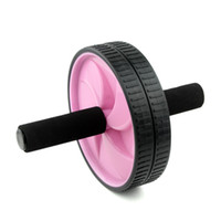 Wholesale Abdominal Workout Fitness Roller Handle Exercise Wheel New