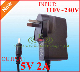 Power Adapter 5V 2A DC 2.5mm x 0.7mm AU Australia Plug 100pcs DHL Free shipping High Quality