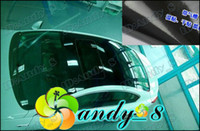 Wholesale 2Roll m m Air Free Gloss Black Vinyl Car Roof Skylight Wrap Protection Film Sticker PVC