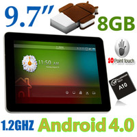 Wholesale 9 quot GB Allwinner A10 Bluetooth GHZ Android ICS Capacitive Pointouch P HDMI Tablet PC