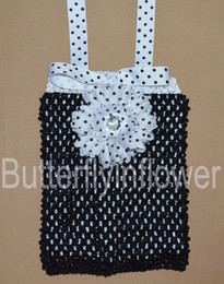 Wholesale halter tops double layer interchangeable tops with dasiy clips and matching ribbon
