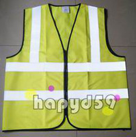 Wholesale Senior reflective construction traffic overalls vest jacket uniform sanitation reflective vest