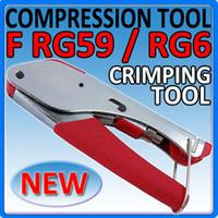 Wholesale Compression Crimp Crimper Tool BNC RCA F RG6 RG59