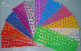 Venta por mayor - Laptop teclado de silicona caso Protector cubierta de piel para MacBook impermeable al polvo 12 c