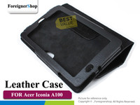 Wholesale Folio PU Leather Case For Acer Iconia Tab A100 quot Tablet PC Stand Cover