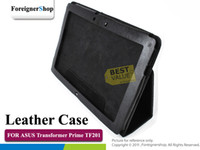 Wholesale Folio PU Synthetic Leather Case For ASUS Eee Pad Transformer Prime TF201 Stand Cover