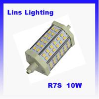 Wholesale LED Flood Lights Light source R7S W SMD Light AC85 V From Lins Lighting