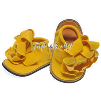 Wholesale baby first walker shoes baby shoes YELLOW infant shoes kids shoe TOP BABY shoes children s shoes