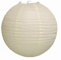 Wholesale 10 Ivory Chinese Japanese Paper Lanterns Lmapshade quot Wedding Christmas Birthday Party Decoration