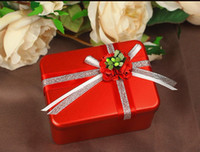 80pcs Drop shipping oblong Wedding favors box gift box for Favor Holders