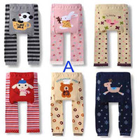 Wholesale 144pcs PP Pants Baby Kids Legging Warmer Animal PP Pants Boys Girls Pants