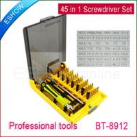 Wholesale 45 in Precision Professional Tools Screwdriver Set New BT Y0006A