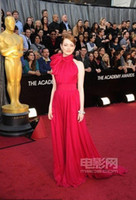 Wholesale EmmaStone The th Academy Awards Celebrity Dresses Oscar dress EmmaStone Red Carpet dresses