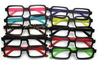Wholesale 20pcsMale and female spectacle frames matte color multicolor