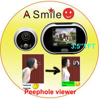 Wholesale 3 inch TFT Screen Digital Door Viewer Peephole viewer from asmile