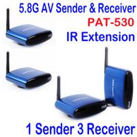 audio av receiver - 5 GHz M Wireless AV Audio Video Sender Receiver IR original adapter New
