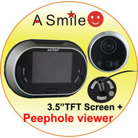 Wholesale Fast Shipping Ominia Digital Door Peephole Viewer from asmile