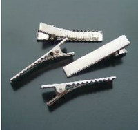 Wholesale Hair Ornament Clips Barrettes Hair Jewelry Accessories mm Metal Barrettes Clips TX10