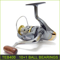 Wholesale fishing reels brand new Ball bearing spinning reel fishing tackle tools gear TEB400