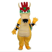 Costum Made bowser costume - SUPER MARIO BOWSER KOOPA Mascot Costumes Halloween Fancy Dress Outfit Suit Adult Size