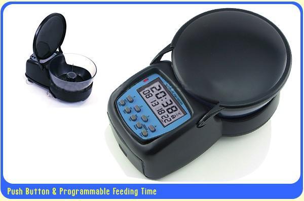 2017 automatic fish feeder automatic aquarium tank fish for Fish tank auto feeder