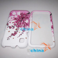 No other other Beautiful Cherry Blossoms Crystal Cell Phone Cases for i900 Phone Protector 200pcs Lot JN-SJ-A0106